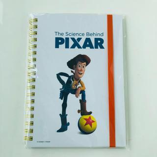 トイストーリー(トイ・ストーリー)のPIXARのひみつ展限定  リングノート ウッディ(ノート/メモ帳/ふせん)