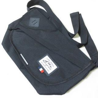 シマムラ(しまむら)のしまむら 黒 メッセンジャーバッグ ショルダーバッグ K047 (メッセンジャーバッグ)