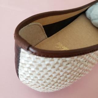 フラットパンプス(ローファー/革靴)