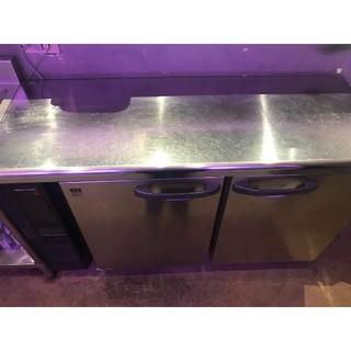 新品同様 ホシザキ 業務用 コールドテーブル 冷蔵(冷蔵庫)