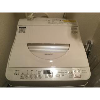 シャープ(SHARP)の全自動洗濯機 SHARP 乾燥機付き 5.5kg(洗濯機)