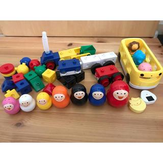 【こどもちゃれんじぷち】いろっちマトリョーシカとバスのプップー(知育玩具)