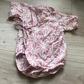 プティマイン(petit main)のプティマイン  ロンパース  甚平 専用(甚平/浴衣)