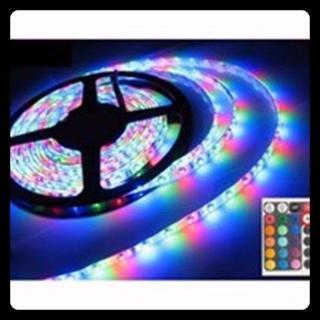16色 LED テープライト 5m 300連 防水 リモコン付 人気 ¥1,77(蛍光灯/電球)