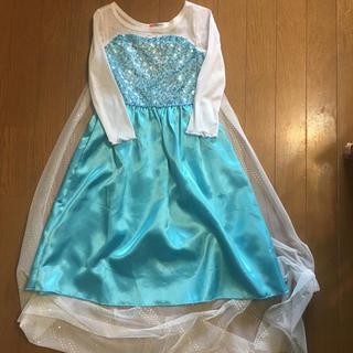 shina0422様専用  ※やや難あり アナ雪 エルサ ドレス 110センチ(ドレス/フォーマル)