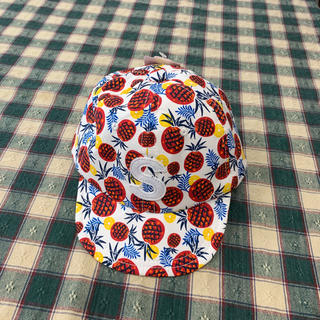シマムラ(しまむら)の柔らか総柄キャップ  48-50センチ(帽子)