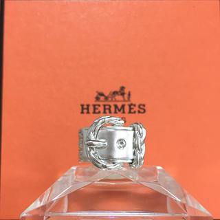 エルメス(Hermes)の正規品 エルメス 指輪 ベルト ディアンヌ シルバー SV チェーン 銀 リング(リング(指輪))
