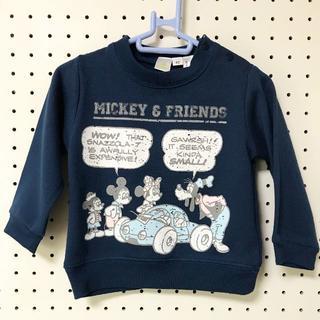 ディズニー(Disney)の【新品タグ付】80cm MICKEY&FRIENDS トレーナー(トレーナー)