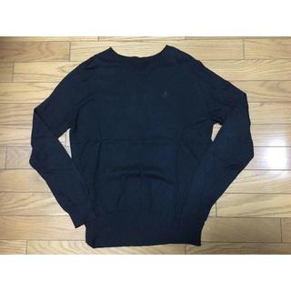 ユニフォームエクスペリメント(uniform experiment)の中古uniform experiment長袖ニットL黒SOPH(ニット/セーター)