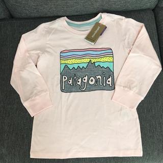 パタゴニア(patagonia)のpatagonia 長袖 Tシャツ ロンT 4T(Tシャツ/カットソー)