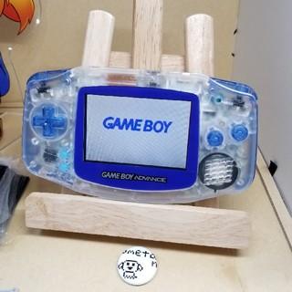 ゲームボーイアドバンス(ゲームボーイアドバンス)のゲームボーイアドバンス うめたん クリア クリアブルー(携帯用ゲーム本体)