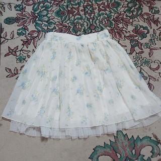 ハニーズ(HONEYS)のスカート 花柄(ひざ丈スカート)