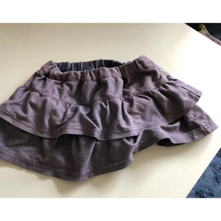クミキョク(kumikyoku(組曲))の組曲二段ティアードスカートパンツインナー付き8090(スカート)