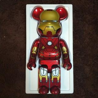 アイアンマン MARK Ⅶ 1000% ベアブリック(ぬいぐるみ/人形)