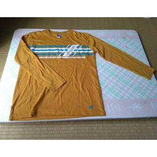 未着用かも? 美品 HANGTEN 長袖Tシャツ 150 黄土色