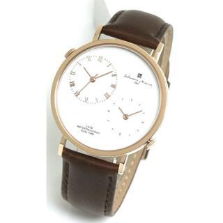 サルバトーレマーラ(Salvatore Marra)のメンズ 腕時計 サルバトーレマーラ デュアルタイム レザーベルト 本革 シンプル(その他)