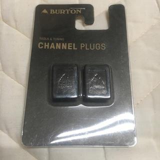 バートン(BURTON)のBURTON チャンネル プラグ Mountain Logo 新品 未使用(アクセサリー)