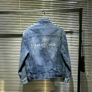バレンシアガ(Balenciaga)のBALENCIAGAジャケット デニムジャケット(Gジャン/デニムジャケット)