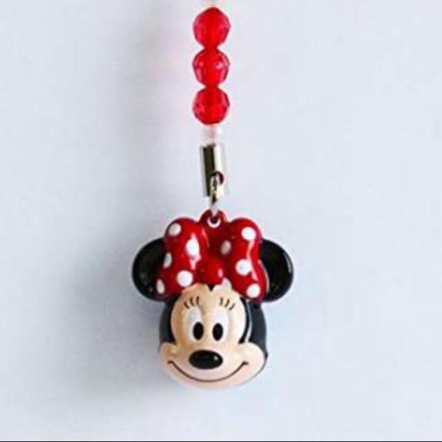 ミニーマウス(ミニーマウス)のミニー ストラップ エンタメ/ホビーのアニメグッズ(ストラップ)の商品写真