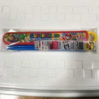 ショウワノート(ショウワノート)の新品 スーパーマリオ お箸(スプーン/フォーク)