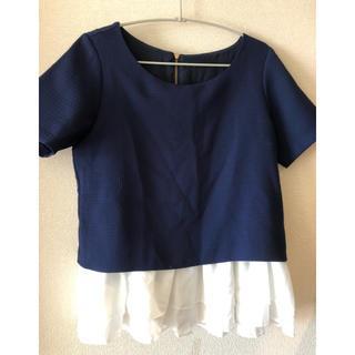 バビロン(BABYLONE)の値下げ🎶BABYLONE フリルつき半袖🎶(Tシャツ(半袖/袖なし))