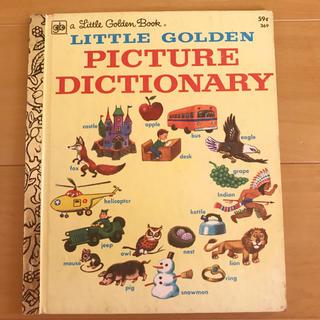 ディズニー(Disney)のLITTLE GOLDEN PICTURE DICTIONARY (洋書)