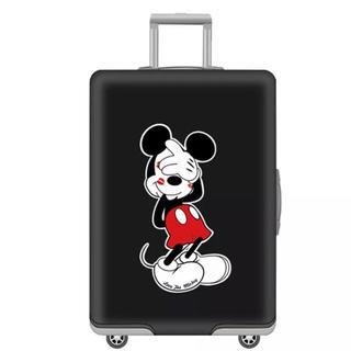 ディズニー(Disney)のSALE スーツケースカバー ミッキー N  Sサイズ(スーツケース/キャリーバッグ)
