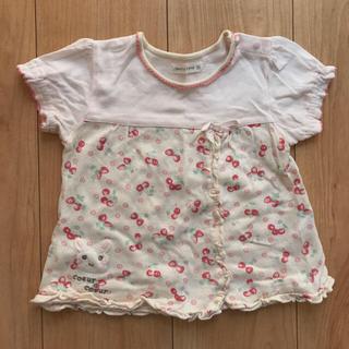 クーラクール(coeur a coeur)のまりあママ様専用(´・∀・`)遊び着☆Tシャツセット 90♡(Tシャツ/カットソー)