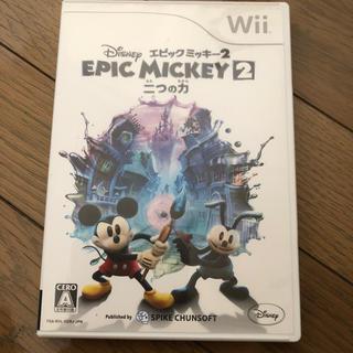 ディズニー(Disney)のWii EPIC MICKEY2 二つの力(家庭用ゲームソフト)