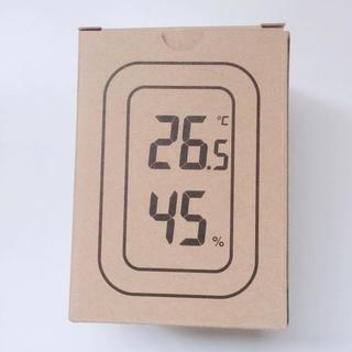 ムジルシリョウヒン(MUJI (無印良品))の無印良品 デジタル温湿度計 ホワイト 白(置時計)
