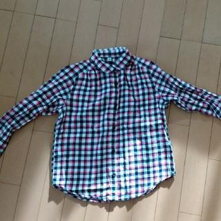 ユニクロ(UNIQLO)の【ユニクロ】ガールズシャツ140cm(ブラウス)