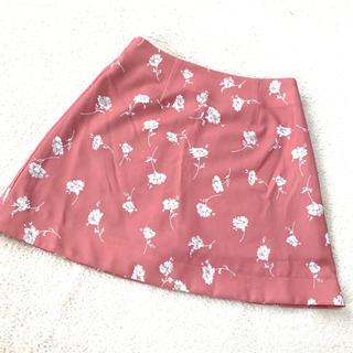 ティティアンドコー(titty&co)のtitty&co.  花柄スカート(ミニスカート)