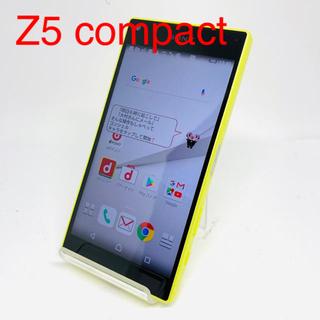 エクスペリア(Xperia)の【SIMフリー】SONY Xperia Z5 compact SO-02H(スマートフォン本体)