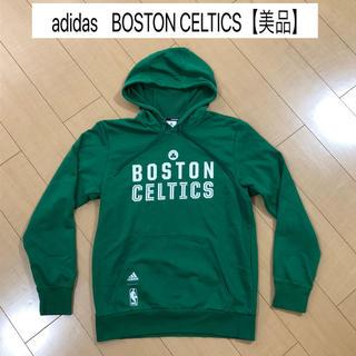 アディダス(adidas)の美品 アディダス NBA セルティックス バスケ パーカー ウェア(バスケットボール)