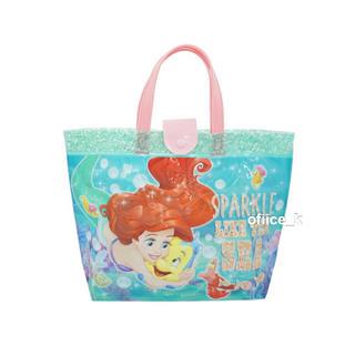 ディズニー(Disney)のディズニー アリエル プリンセス プールバッグ バッグ ビーチバッグ ビニール(マリン/スイミング)
