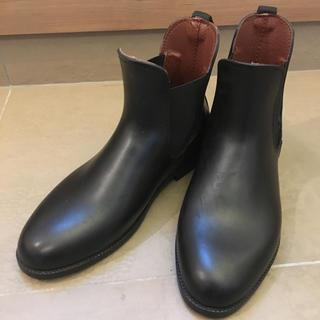 ハンター(HUNTER)のレインブーツ サイドゴアブーツ 25センチ(レインブーツ/長靴)