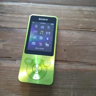 ウォークマン(WALKMAN)のSONY ウォークマン Sシリーズ 16GB グリーンNW-S15K(ポータブルプレーヤー)