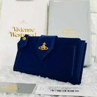 ヴィヴィアンウエストウッド(Vivienne Westwood)の★新品 正規品★ ヴィヴィアンウエストウッド 長財布 ブルー(財布)