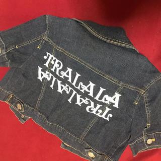 トゥララ(TRALALA)のGジャン デニムジャケット ショート丈 半袖 かわいい オシャレ(Gジャン/デニムジャケット)