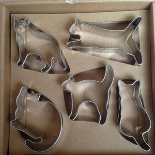 猫 クッキー型(調理道具/製菓道具)