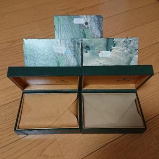 ロレックス(ROLEX)のROLEX  BOX  3セット(その他)