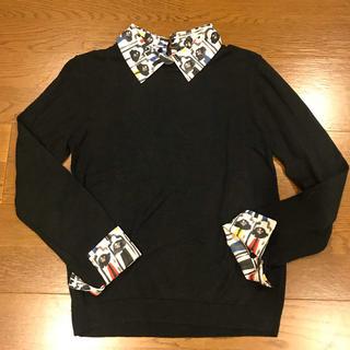 alice + olivia 襟袖付きトップス