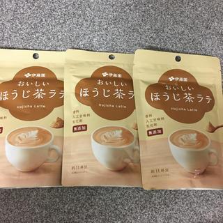イトウエン(伊藤園)の伊藤園 おいしいほうじ茶ラテ  160g入り  ×  3袋(茶)