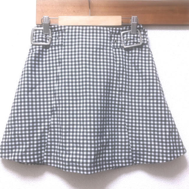 Bubbles(バブルス)のギンガムチェック スカート レディースのスカート(ミニスカート)の商品写真
