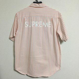 350f68b167 シュプリーム(Supreme)のSupreme Stripe Denim S S Shirt ストライプ デニム