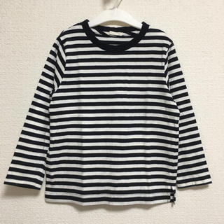 ジーユー(GU)のgu★ボーダーカットソー ロンT 120(Tシャツ/カットソー)