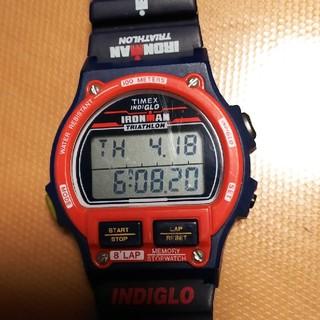タイメックス(TIMEX)のTIMEX IRONMAN TRIATHONアメリカ国旗(腕時計)