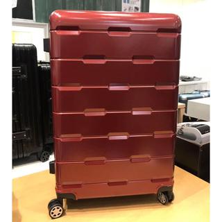 軽量キャリーケースLサイズ赤(スーツケース/キャリーバッグ)