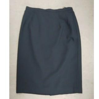 ムジルシリョウヒン(MUJI (無印良品))の無印良品タイトスカート Sサイズ相当(ひざ丈スカート)