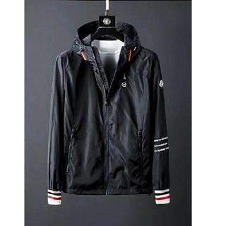 MONCLER - Moncler×FRAGMENTダスターコートジャケット/黒い